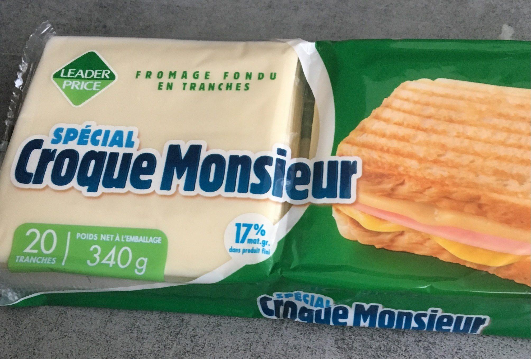 Fromage Fondu Spécial Croque Monsieur - Produit - fr