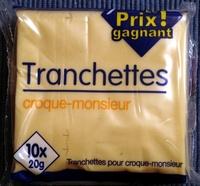 Tranchettes croque-monsieur - Produit - fr