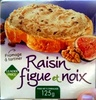 Fromage à tartiner - Raisin, figue et noix (27,9 % MG) - Product