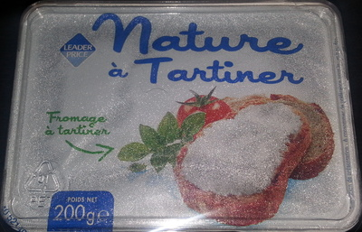 Formage  à Tartiner Nature - Product