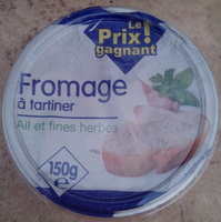 Fromage à tartiner Ail et fines herbes - Product