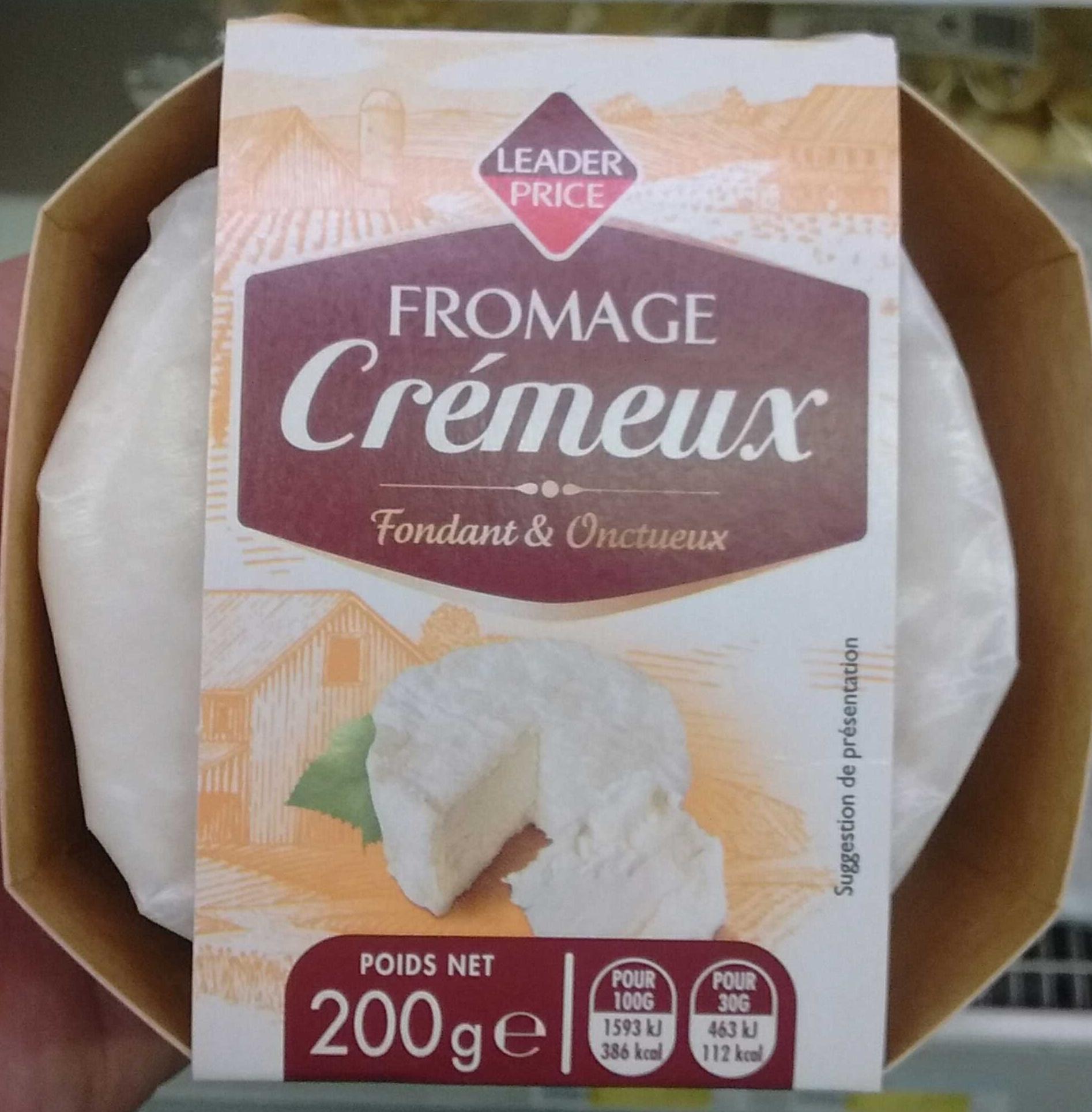 Fromage cr meux 38 mg leader price 200 g - Quantite de fromage par personne ...