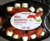 Mini brochettes tomates marinées Fromage de chèvre - Product