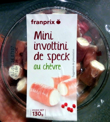 Mini Involtini de speck au chèvre - Product