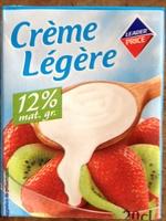 Crème Légère (12 % MG) - Produit