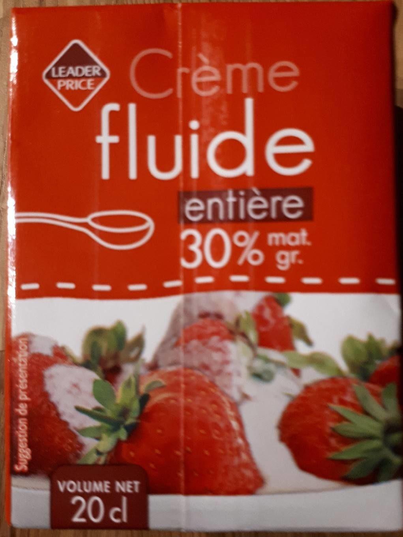 Creme fluide entiere 30% - Product - fr