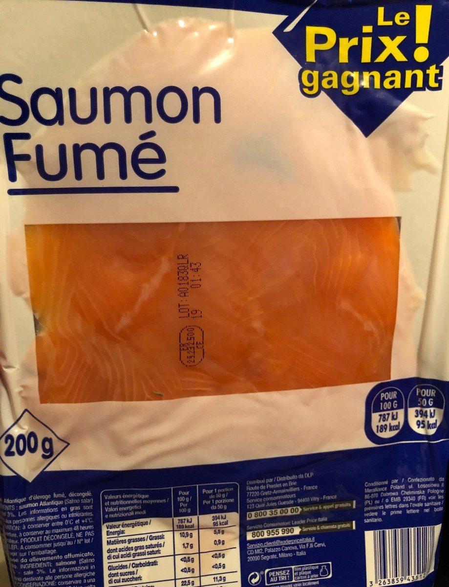 Saumon fumé - Prodotto - fr