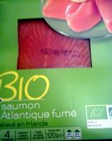 BIO Saumon Atlantique fumé - Produit