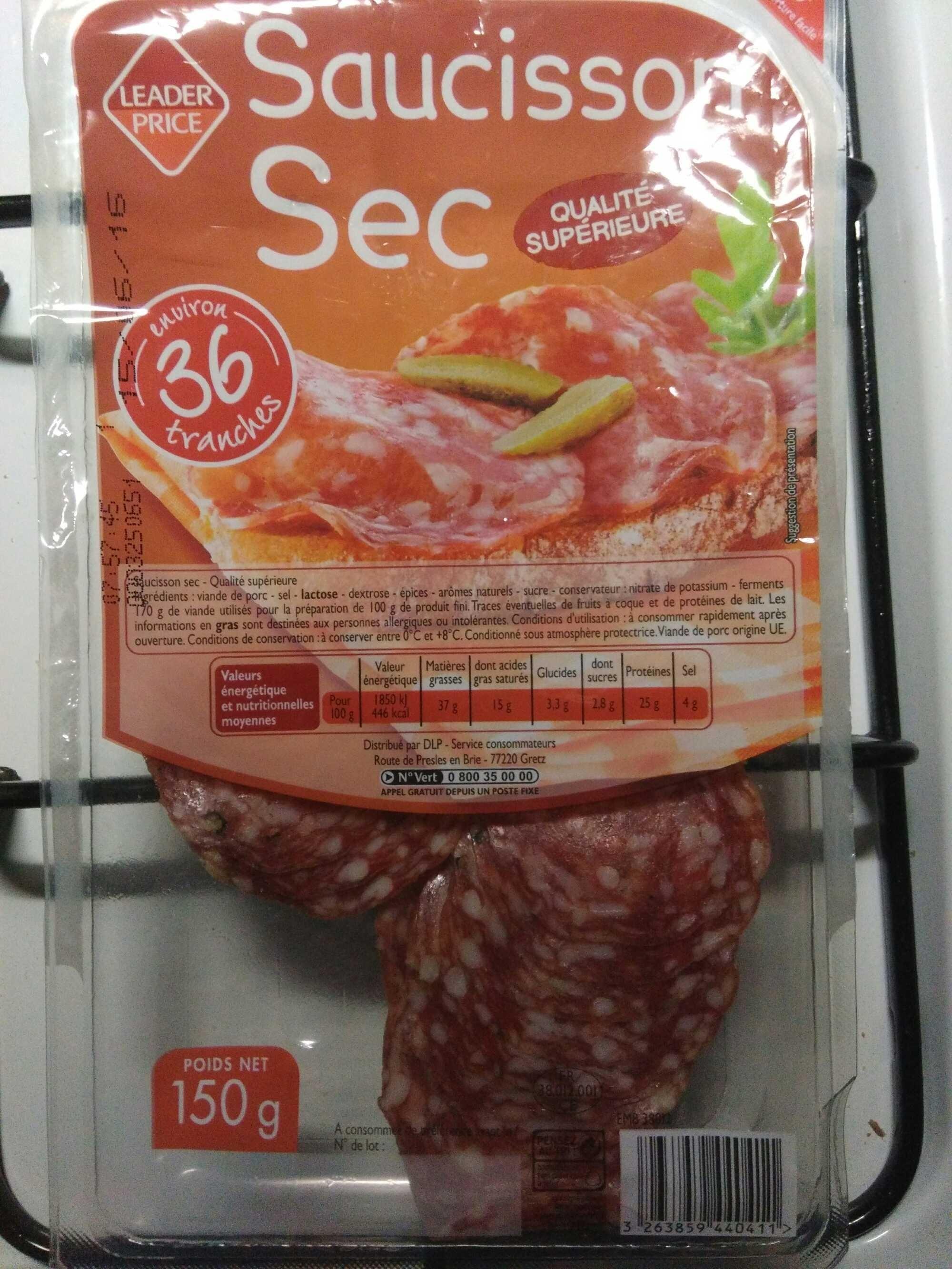 Saucisson Sec - Qualité Supérieure - Prodotto - fr