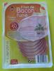 Filet de bacon fumé finement tranché - Produit