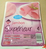 Jambon supérieur (4 tranches) - Product