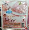 Jambon de Paris, Découenné Dégraissé (4 Tranches) - Product