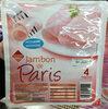 Jambon de Paris, Découenné Dégraissé (4 Tranches) - Prodotto