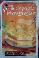 2 Croque Monsieur Jambon Emmental - Produit - fr