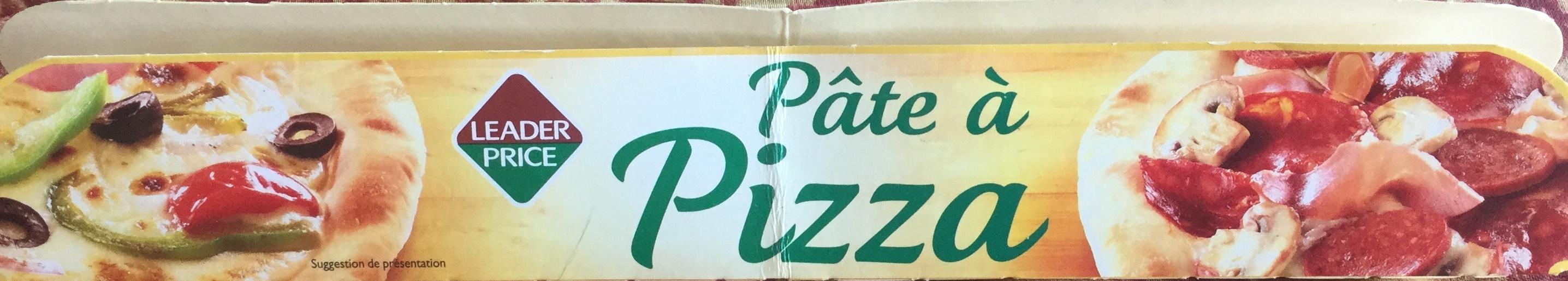 Pâte à Pizza - Product - fr