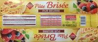 Pâte brisée pur beurre - Prodotto - fr