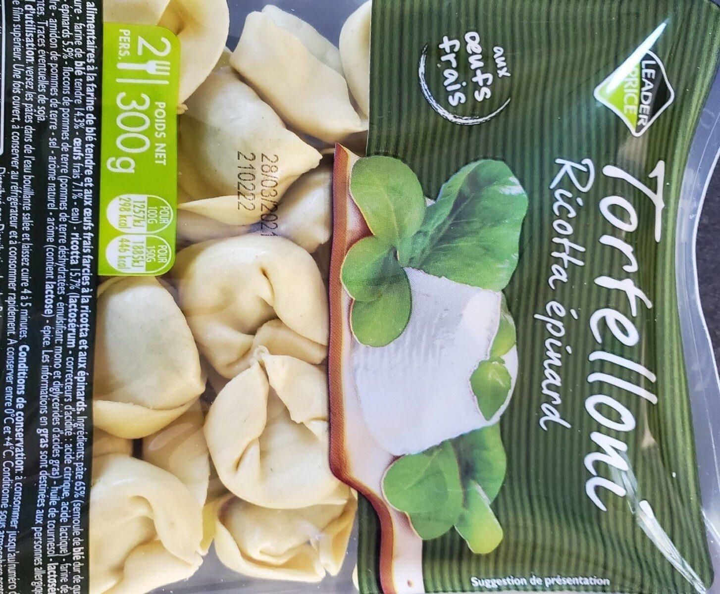 Tortelloni ricotta épinards - Prodotto - fr