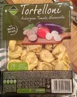 Tortellini aubergine, tomate, mozarella - Product - fr