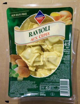 Ravioli aux Cèpes - Product