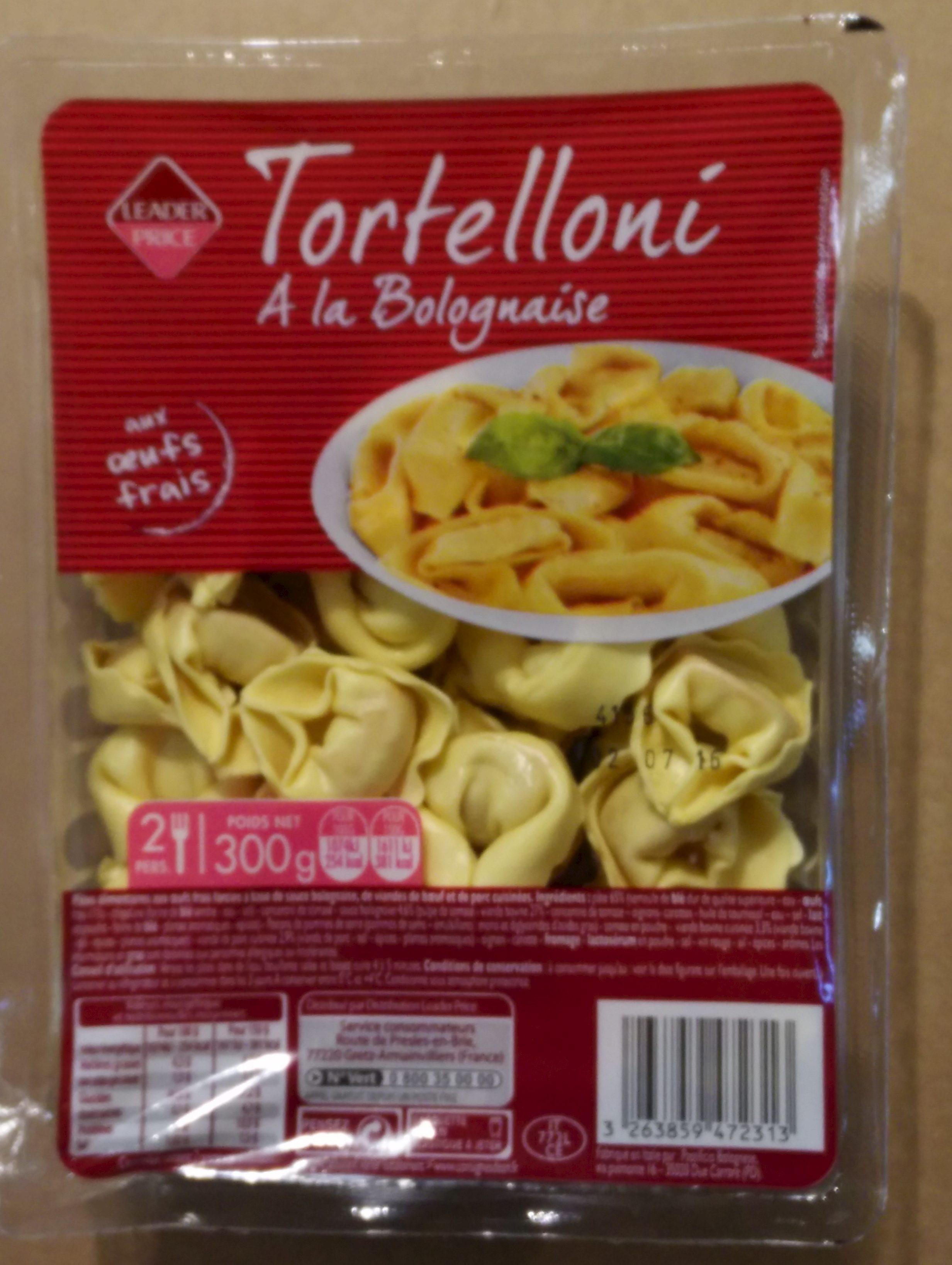 Tortellini à la Bolognaise - Produit