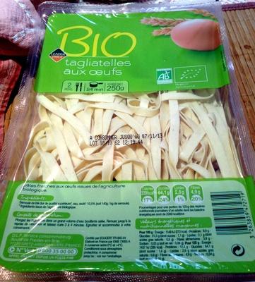 Tagliatelles aux œufs Bio - Product - fr