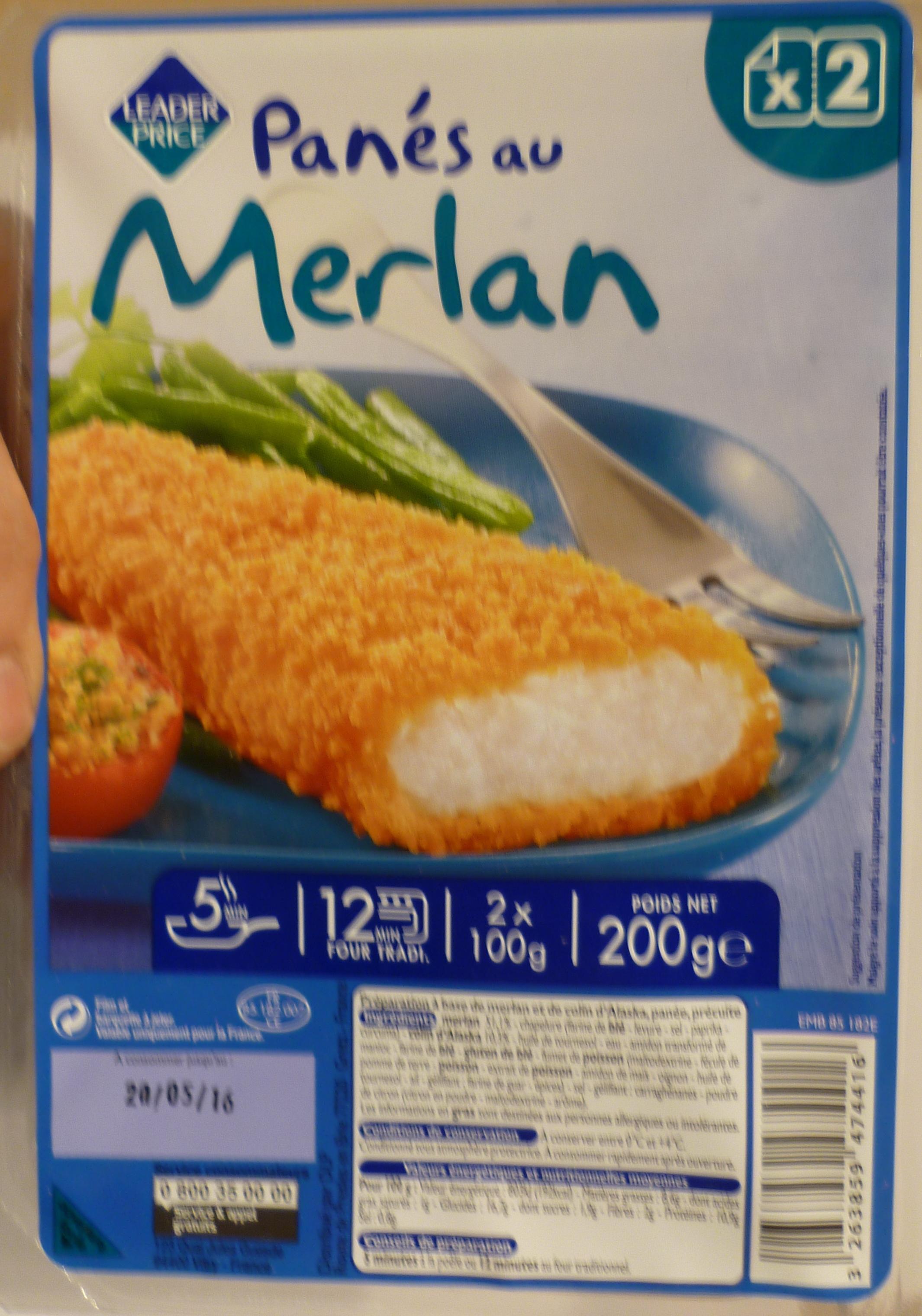 Panés au merlan - Product - fr