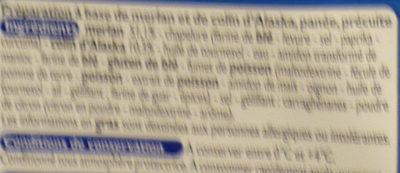 Panés au merlan - Ingrédients