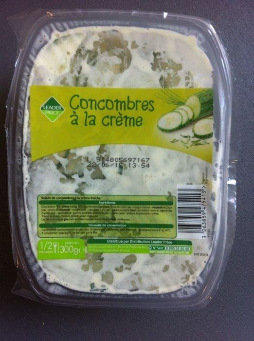 Concombres à la crème - Product - fr