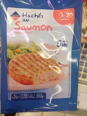 Hachés au saumon et à la ciboulette - Product