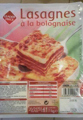 Lasagnes - Product - fr