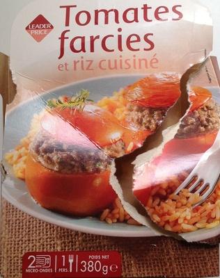 Tomates farcies et riz cuisiné - Product - fr