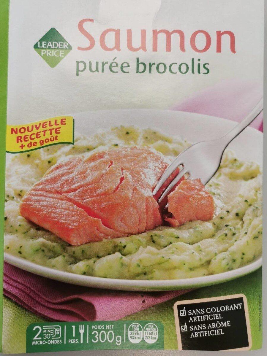 Saumon purée brocolis - Produkt - fr