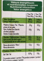 Saumon purée brocolis - Nährwertangaben - fr