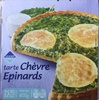 Tarte Chèvre Epinards - Product
