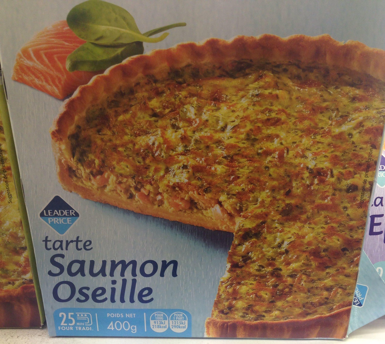 Tarte Saumon Oseille - Product - fr