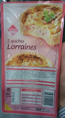2 Quiches Lorraines - Product