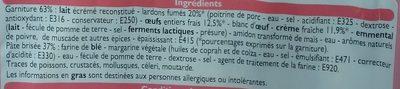 2 Quiches Lorraines - Ingrediënten