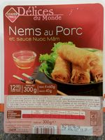 Nems de Porc et sauce Nuoc Mâm - Produit - fr