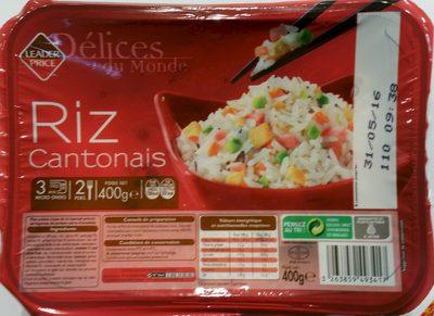 Délices du Monde Riz Cantonais - Product - fr