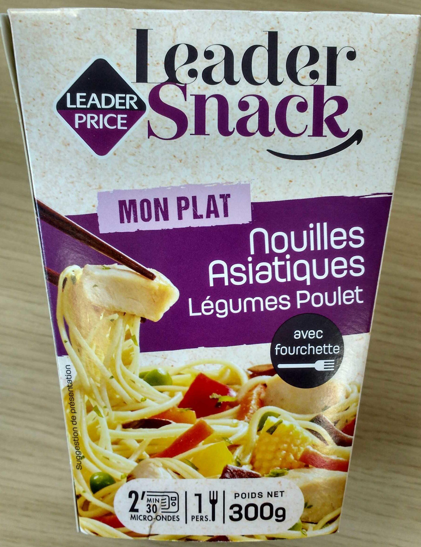 Nouilles Asiatiques Poulet, Légumes - Produit