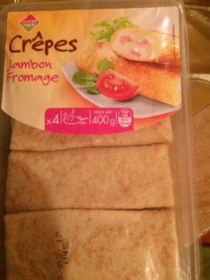 Crepes jambon fromage - Produit - fr