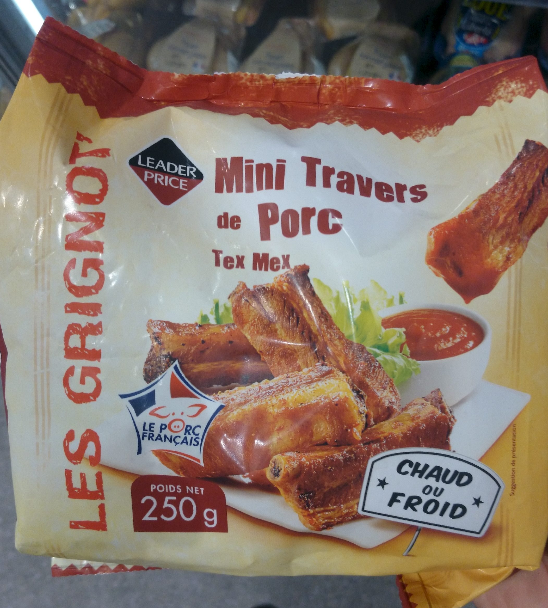 Minis Travers de Porc Tex Mex - Produit - fr