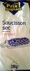 Saucisson sec pur porc - Product