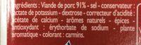 Chair a saucisse superieure - Ingrédients - fr