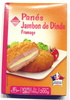 Panés de Jambon de Dinde au Fromage - Produit