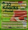 10 Knacks de Poulet - Product