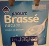Yaourt Brassé nature (12 pots) - Produit