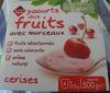 Yaourts aux fruits avec morceaux Cerises - Produit