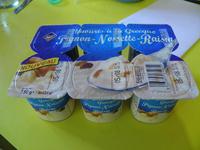 Yaourts à la Grecque Pignon-Noisette-Raisin - Produit