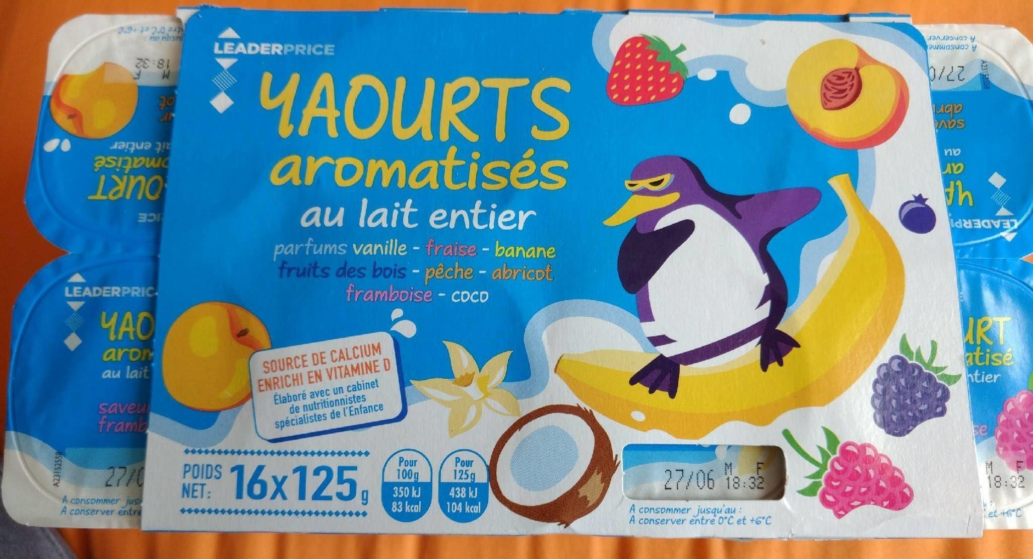 Yaourts aromatisés - Produit - fr